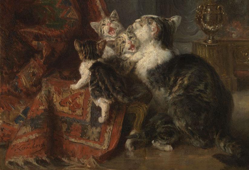 #020today  Katten uit Parijs  u2014 Hart Amsterdammuseum