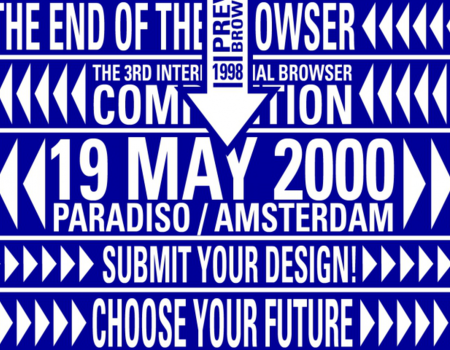 1998: Eerste Internationale Browserdag