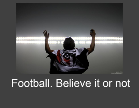 Football. Believe it or not