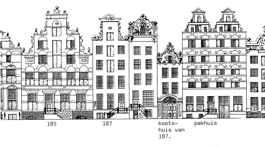 de keizersgracht 185 189 v 243 243 r de verbouwing 1878