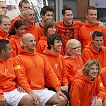 Chris Vos in Team Johan Cruijff Foundation voetbal cup