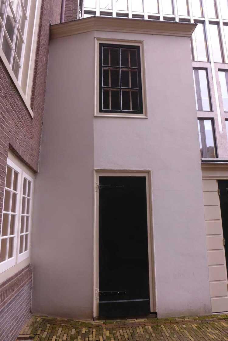 Het verdwenen souterrain van herengracht 605 hart amsterdammuseum - Behang ingang gang ...