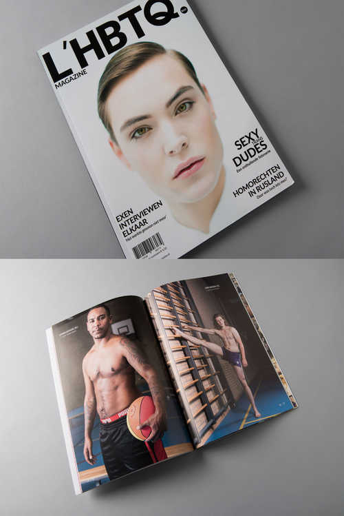 Magazine L'HBTQ, 2015, bruikleen Bart Peters