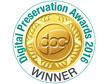 Digital Preservation Award gewonnen!