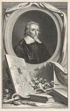 Jacob Houbraken, Portret van William Harvey, 1739, Rijksmuseum Amsterdam