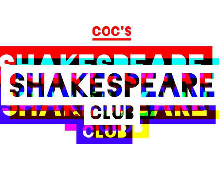 Opening COC's Shakespeare club