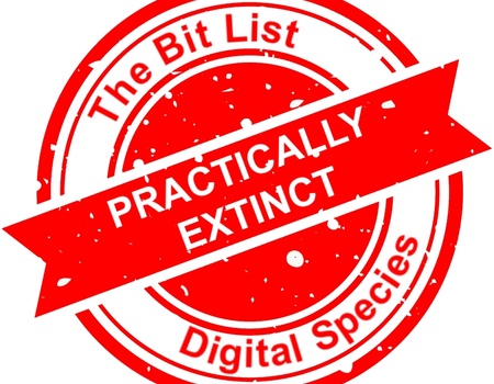 'Bit List of Digitally Endangered Species'
