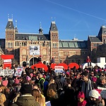 Women's March Amsterdam, photo: Tammy Sheldon
