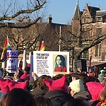 Women's March Amsterdam, photo: Rob Oliver