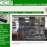 Website Computer Conservation Society www.computerconservationsociety.org