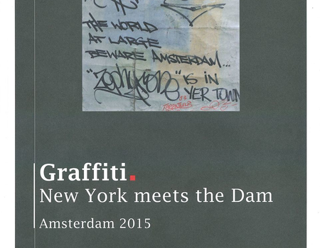 Graffiti. New York meets the Dam