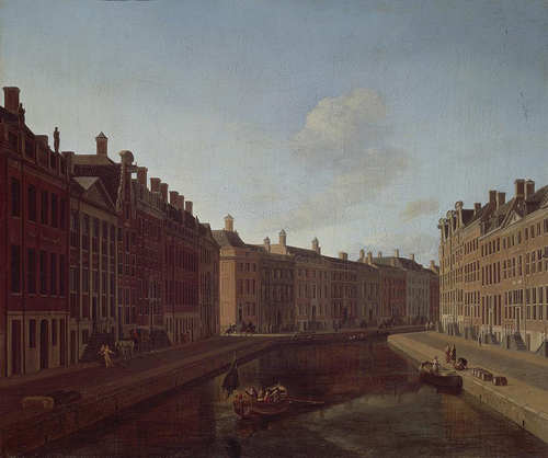 Berckheyde, Bocht in de Herengracht