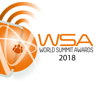 Genomineerd voor World Summit Awards van Verenigde Naties
