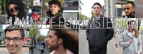 Humans of Film Amsterdam banner