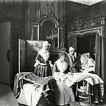 Groene Kamer in westvleugel SMA (ca. 1920)